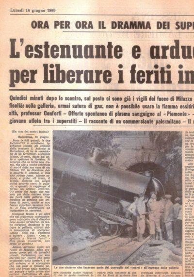 Barcellona PG. Lo scontro ferroviario della Galleria S.Antonio, una tragedia dimenticata