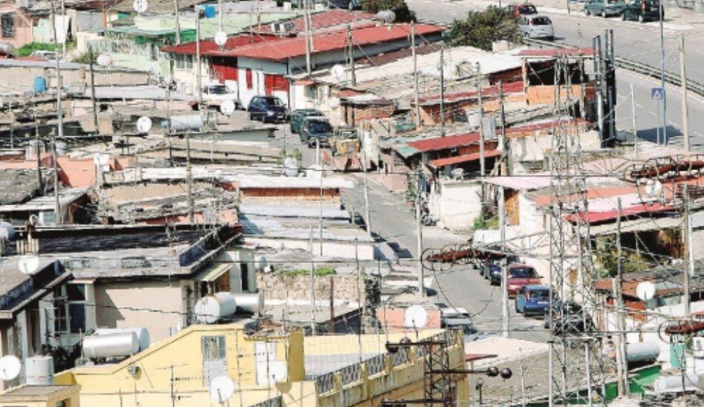 Messina. Sgombero baraccopoli all'Annunziata alta
