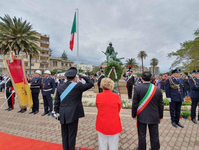 73° Anniversario della Repubblica, presente l'Amministrazione del Longano alle celebrazioni di Messina