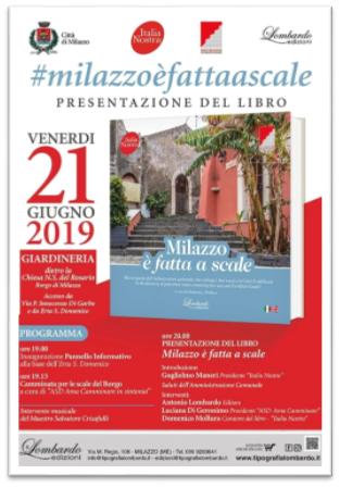 Milazzo. Italia Nostra apre ex Giardineria Comunale e presenta libro 'Milazzo è fatta a scale'