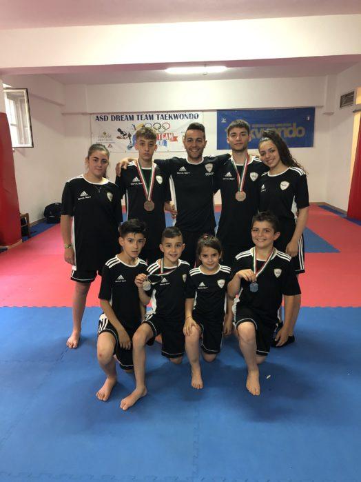 Barcellona PG. Taekwondo, incetta di medaglie per la Dream Team a Roma