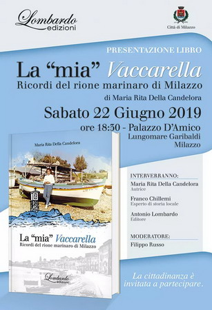 """Milazzo. Presentazione del libro """"La mia Vaccarella"""""""