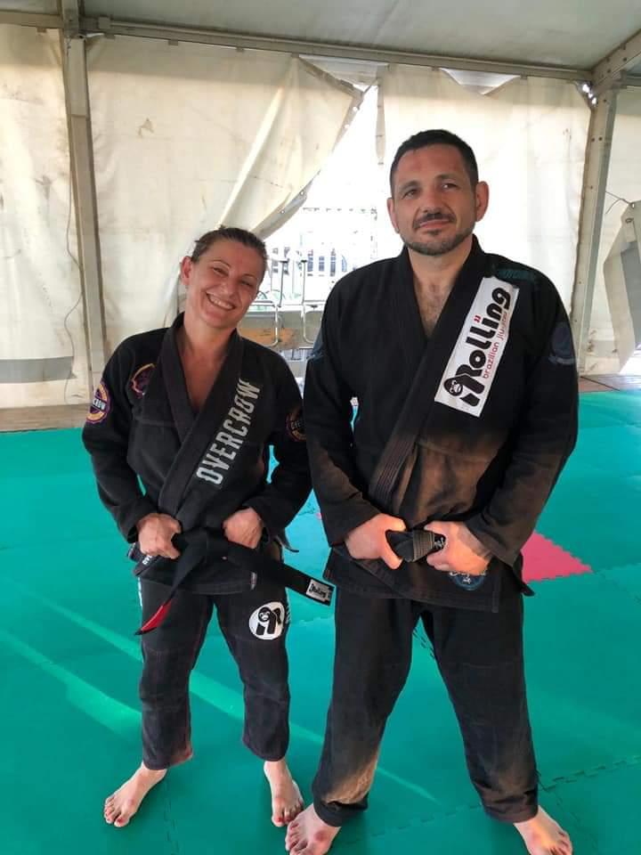 Barcellona PG. Cristina Catalfamo è Cintura Nera di Brazilian Jiu Jitsu