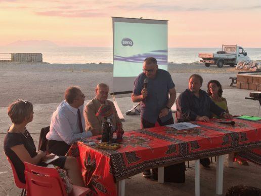 """Terme Vigliatore. Presentato il cortometraggio """"SPRAR"""", protagonisti gli operatori che si interfacciano con i migranti"""