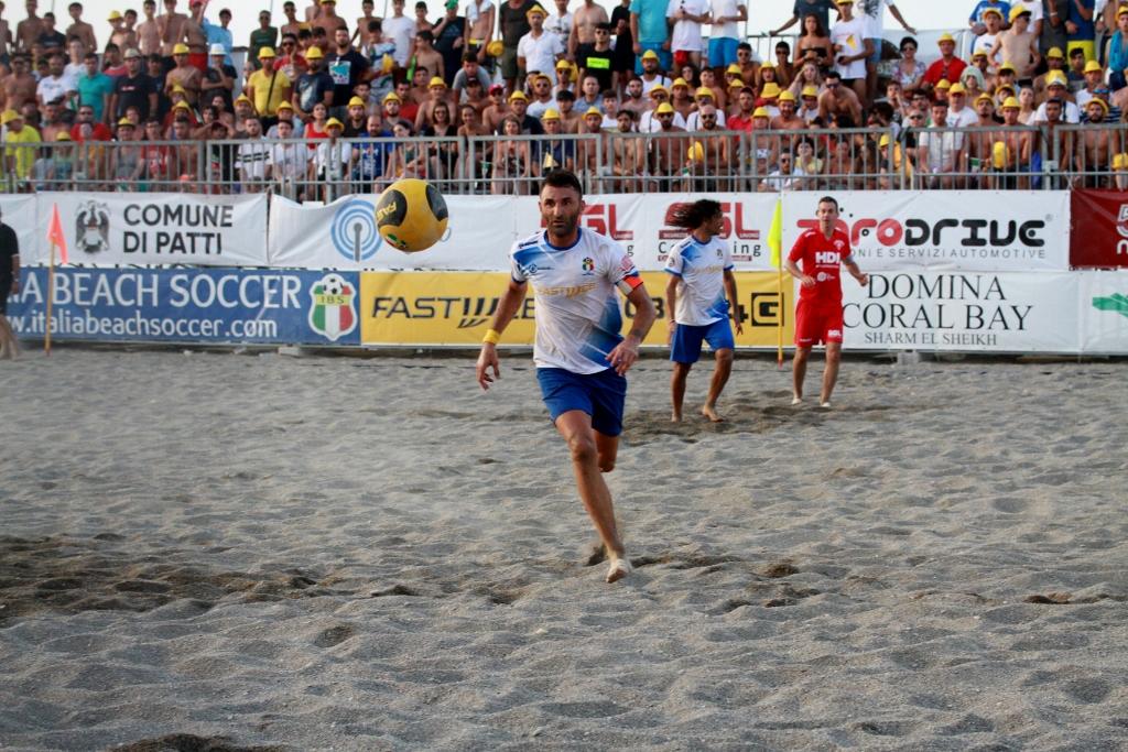 A Patti, grande successo per la Sicily Beach Soccer Cup:  primo posto alla Svizzera