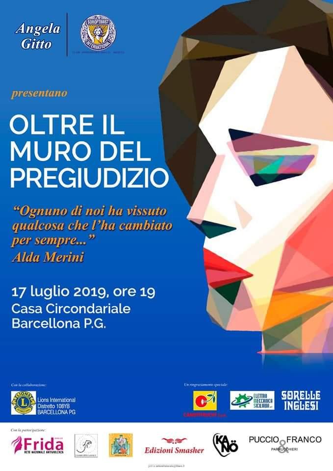 """Barcellona PG. Angela Gitto illustra """"Oltre il Muro del Pregiudizio"""", evento che si terrà alla Casa Circondariale"""