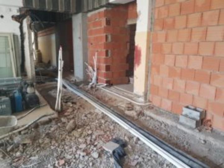 Messina. Il vicesindaco Mondello verifica lo stato dei lavori nei cantieri cittadini