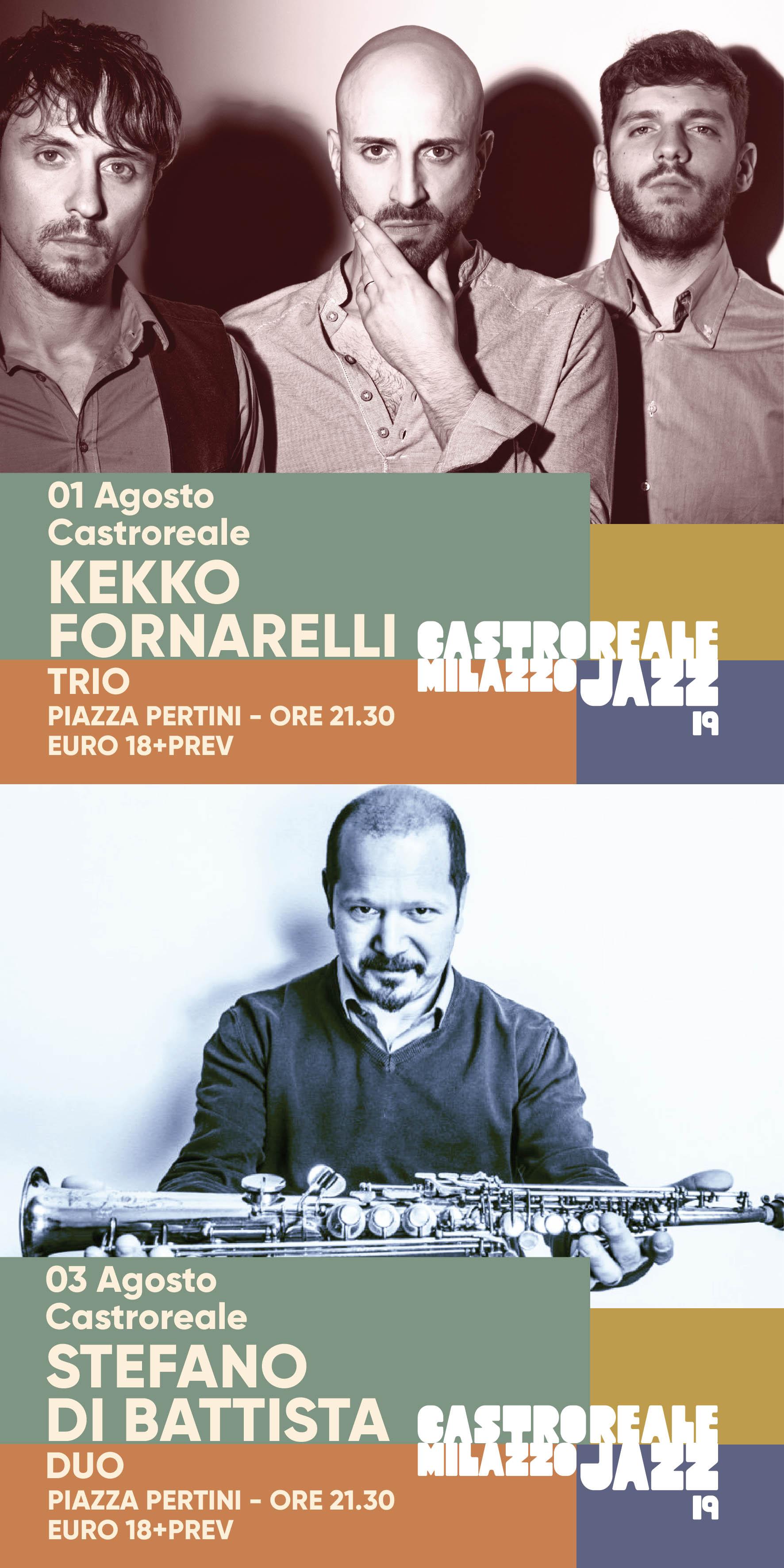 CastrorealeMilazzo Jazz Festival 2019, primo concerto del cartellone di artisti di grandissimo prestigio internazionale