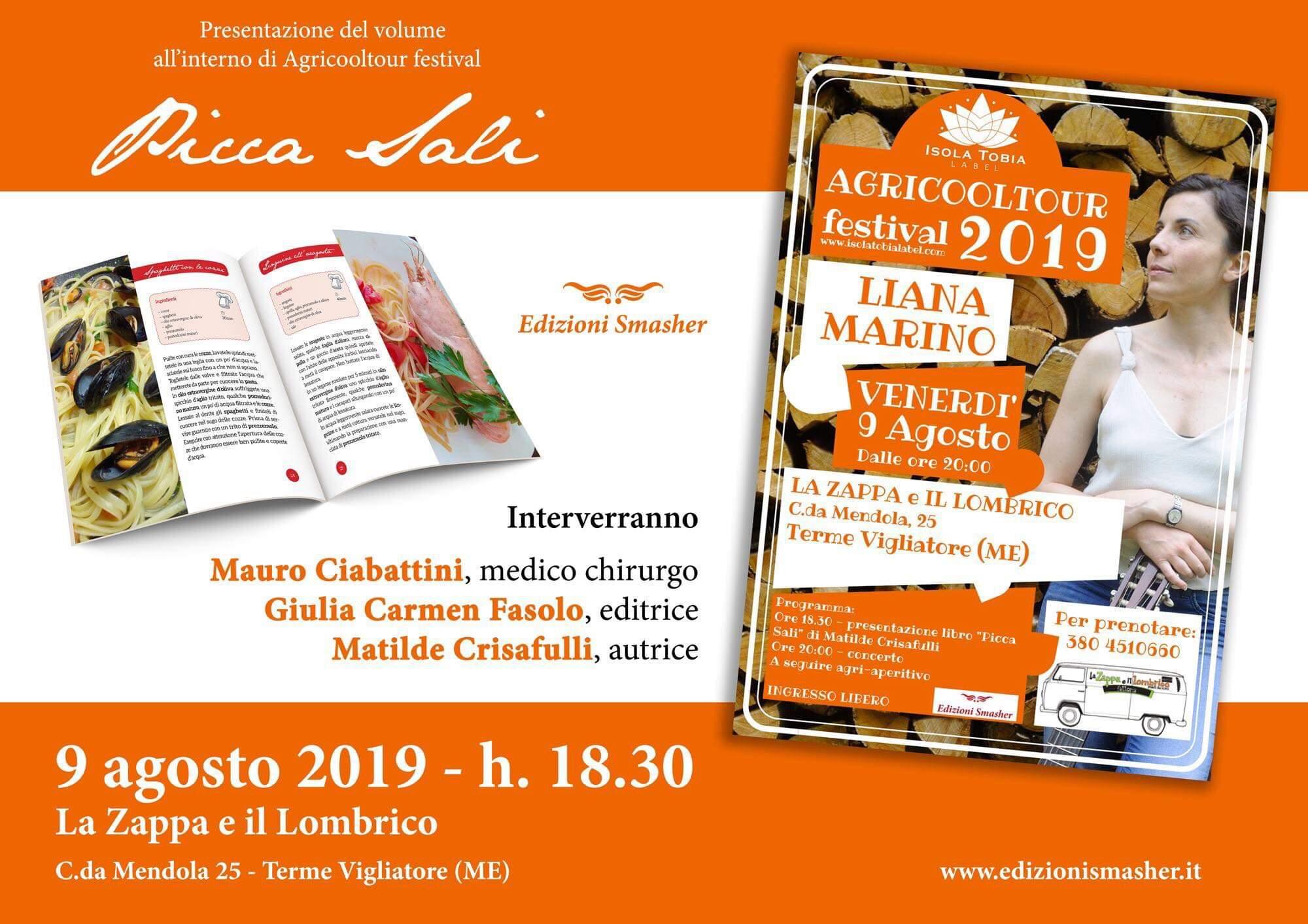 """Terme Vigliatore. Oggi la presentazione del nuovo libro """"Picca sali"""" di Matilde Crisafulli"""