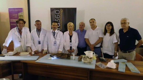 "A Taormina, VI Convegno nazionale di Archeologia Subacquea: ""Post restauro nave di Marausa, interventi di nanotecnologie su nave punica"""