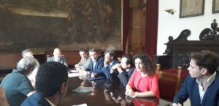 """Messina. Presentata a Palazzo Zanca la missione """"Tre giorni da leone"""" in vista di una collaborazione nel settore agroalimentare tra Sicilia e Libano"""