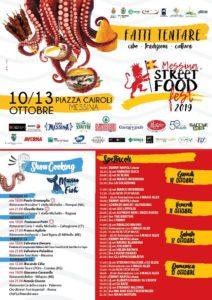 Messina Street Food Fest. Parte oggi la festa del cibo di strada