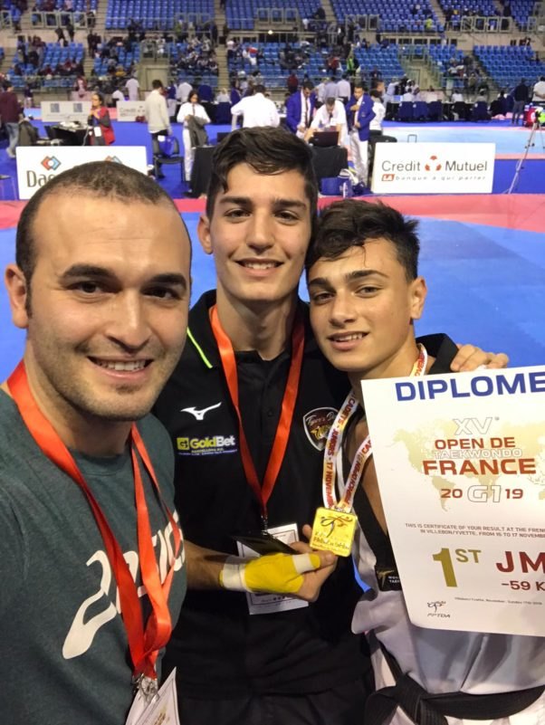 Barcellona PG. Taekwondo, all'Open di Francia Oro per Giuseppe Foti