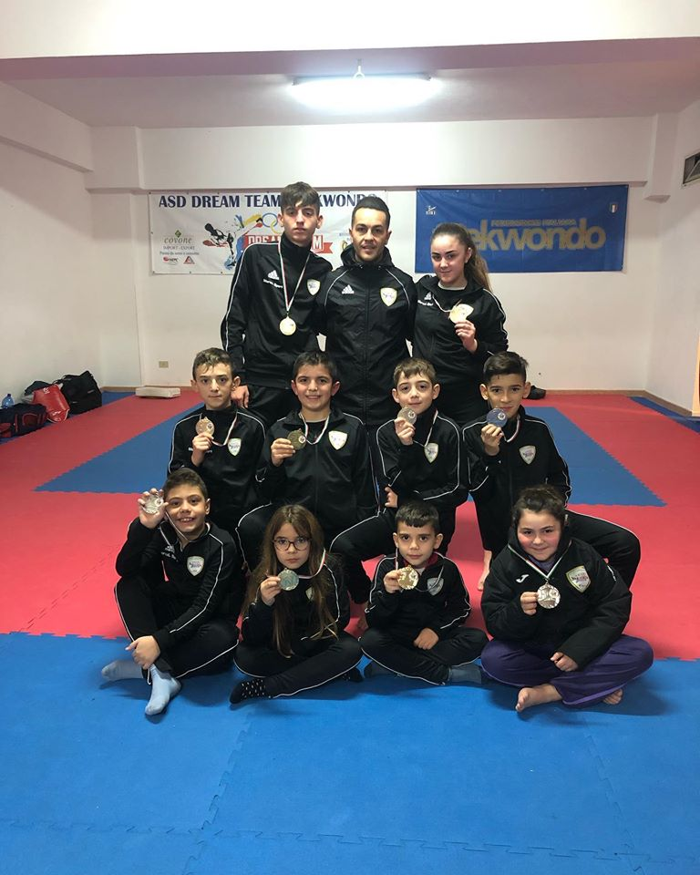 Taekwondo, pioggia di medaglie 'Dream Team' in Coppa Sicilia