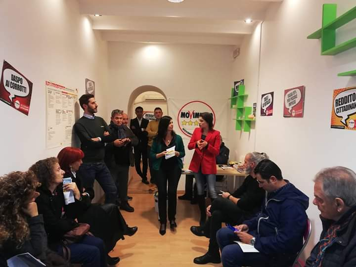 Milazzo. Inaugurata la nuova sede del Movimento 5 Stelle