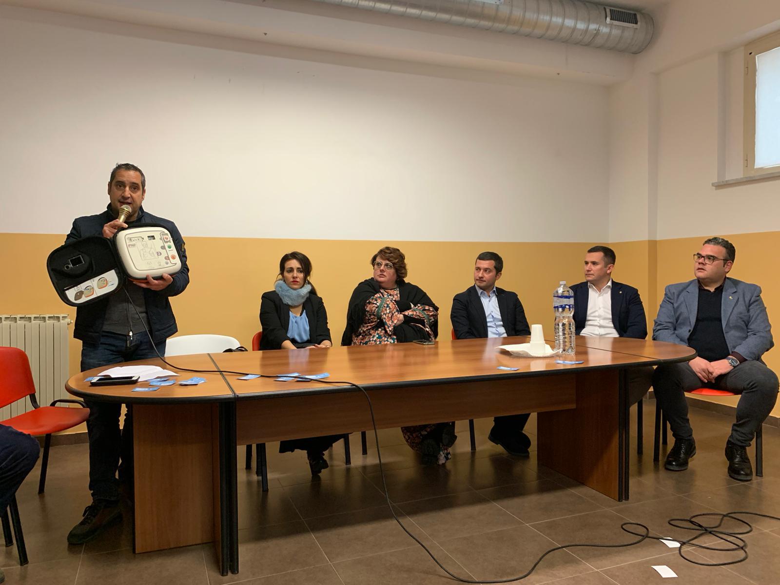"""Barcellona PG. 'Le Ali di Trinacria', dona defibrillatore all'I.C. """"L.Capuana"""""""