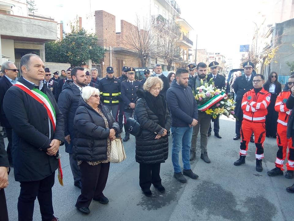 """Barcellona PG. Cerimonia a 27 anni dal delitto Beppe Alfano. Prefetto Librizzi: """"Sacrificato per dare voce alla nostra libertà"""""""