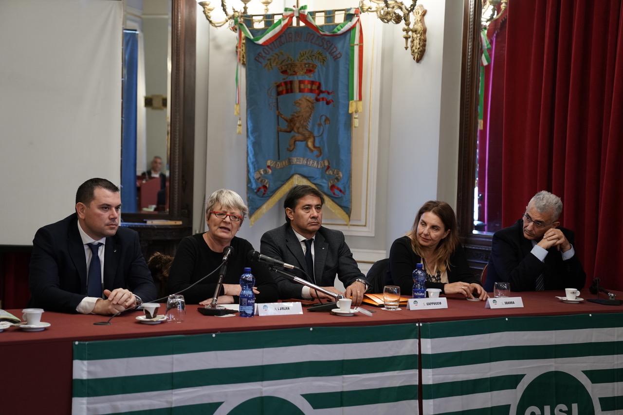 Cisl Messina, Antonino Alibrandi è il nuovo segretario generale