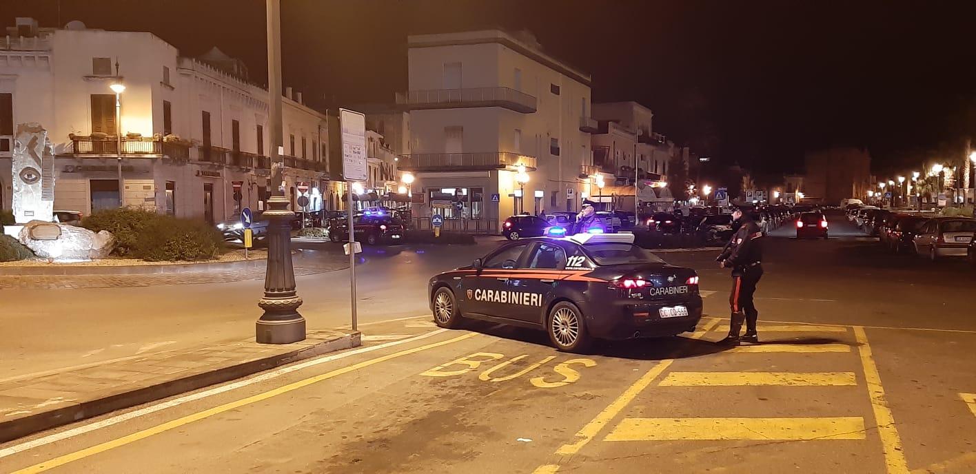 Milazzo. Controlli dei Carabinieri nel weekend, bilancio: 1 arrestato e 5 denunce