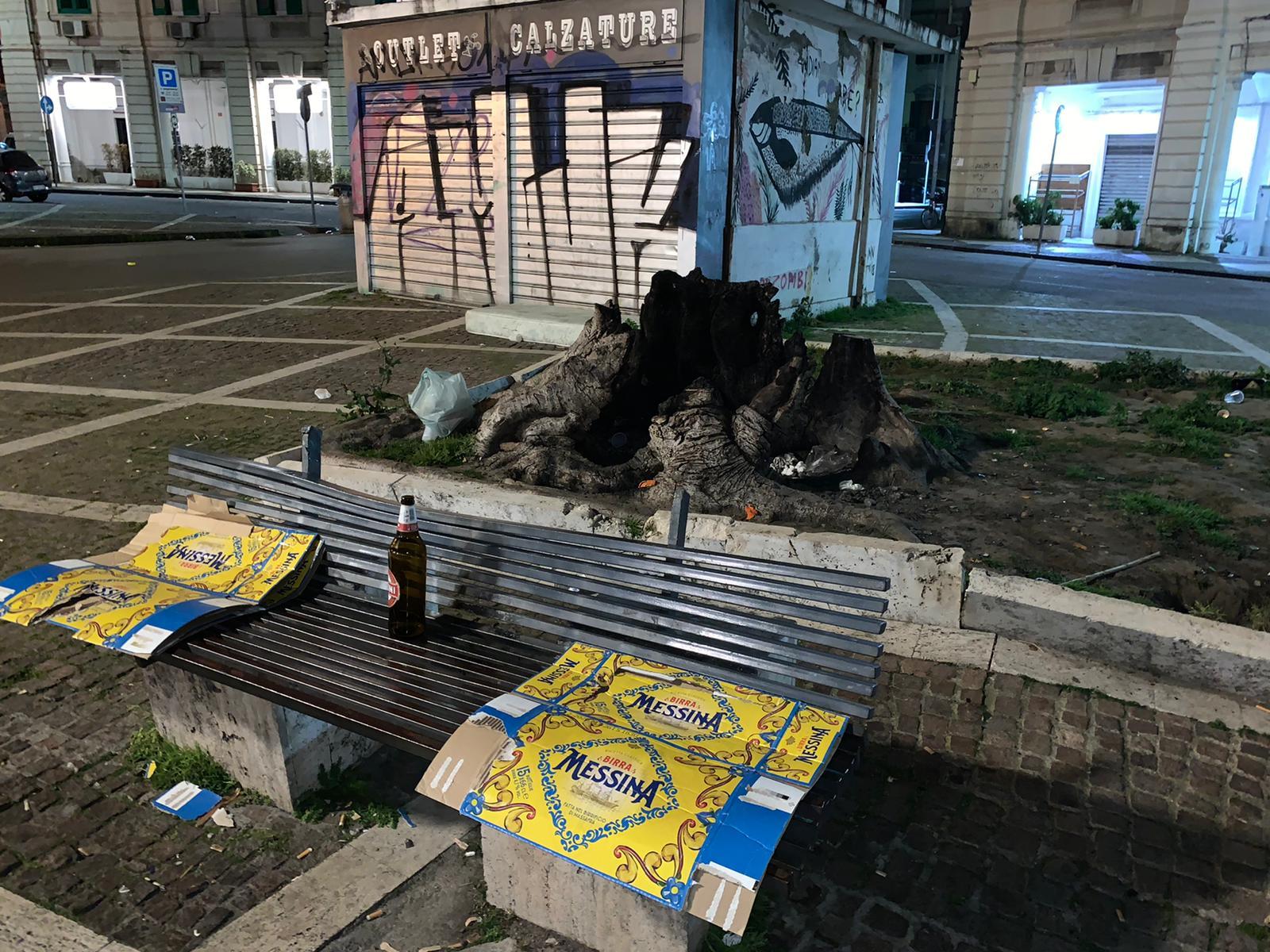 """Messina. Degrado a Piazza del Popolo, Debora Buda: """"Degno delle peggiori città del mondo"""""""
