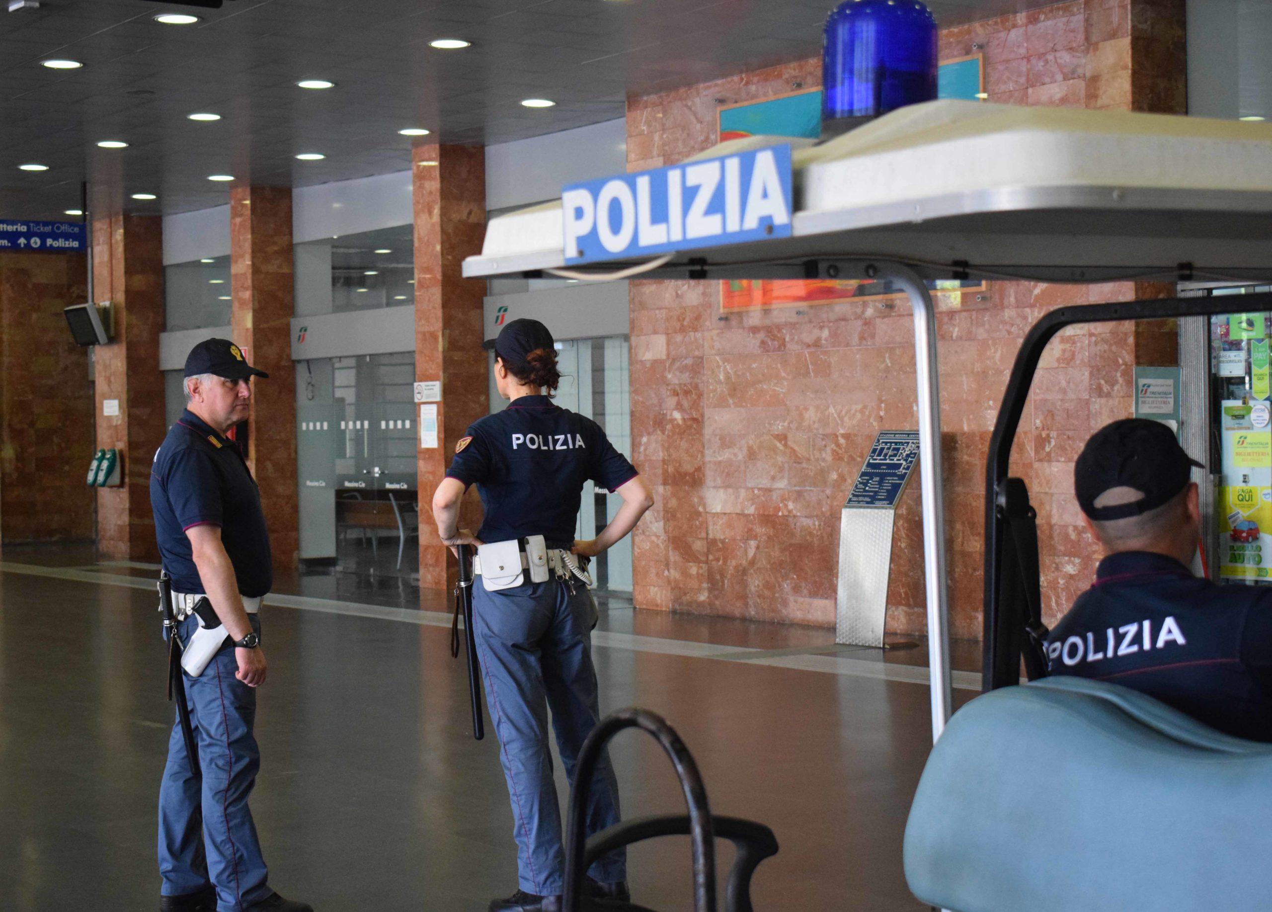 Polfer Sicilia, bilancio annuale controlli in stazione e sul treno