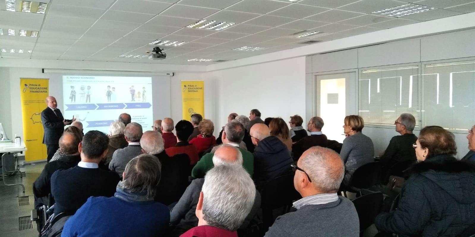Messina. Poste Italiane promuove eventi di educazione finanziaria e digitale per gli over 60