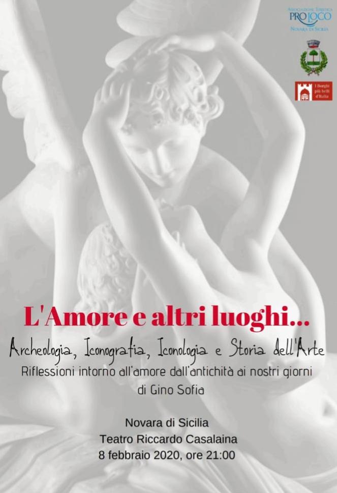 """Novara di Sicilia. """"L'Amore e altri luoghi…"""" di Gino Sofia al Teatro Casalaina"""