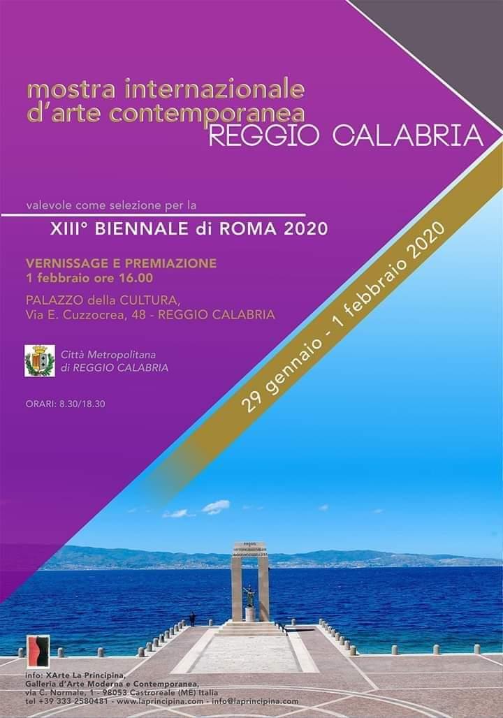 Reggio Calabria. La Mostra Internazionale d'Arte Contemporanea al Palazzo della Cultura