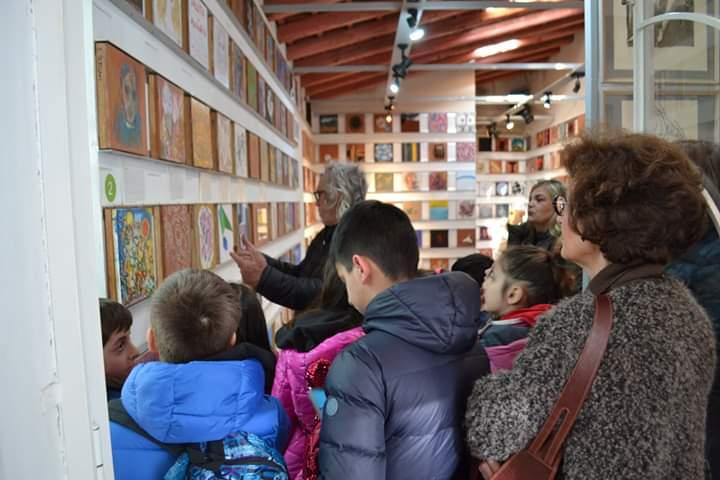 """Barcellona PG. """"Crescere"""" al Museo Epicentro con Galleria PROgetto CITTA' e I.C. Capuana"""