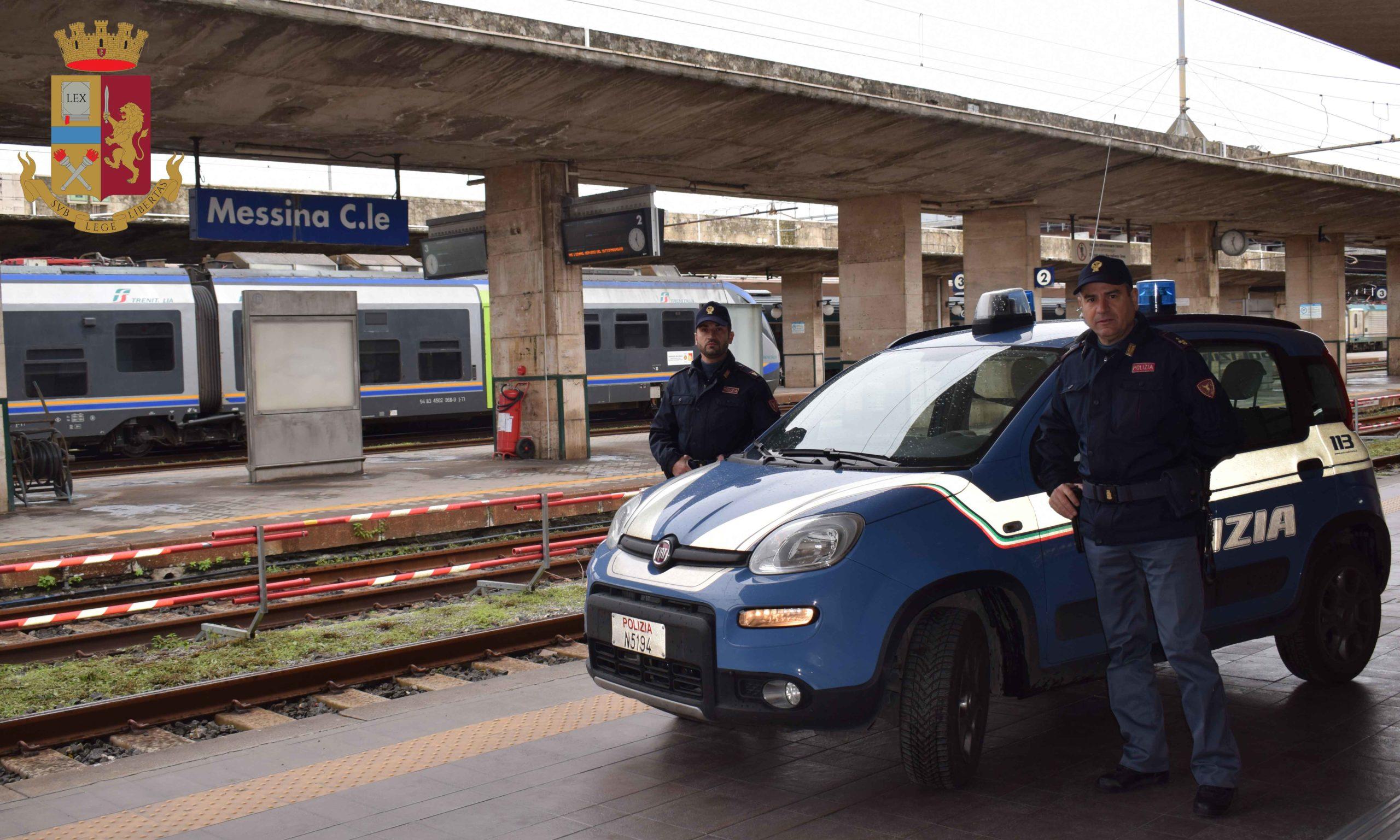Messina. Polizia arresta due ladri di rame in stazione