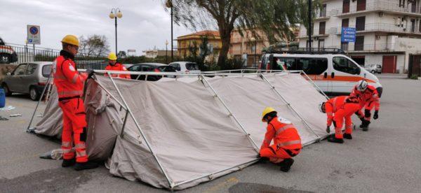 """Barcellona PG. Coronavirus, al Pronto soccorso tenda pre-triage: """"Scopo precauzionale, nessun infetto su territorio"""""""