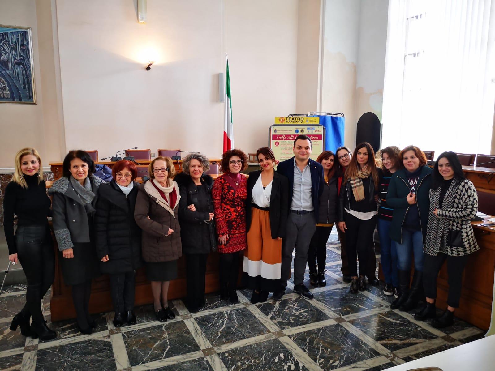 """Barcellona PG. """"I mille volti dell'essere donna"""", serie di eventi ideati dall'Amministrazione comunalecon varie associazioni"""