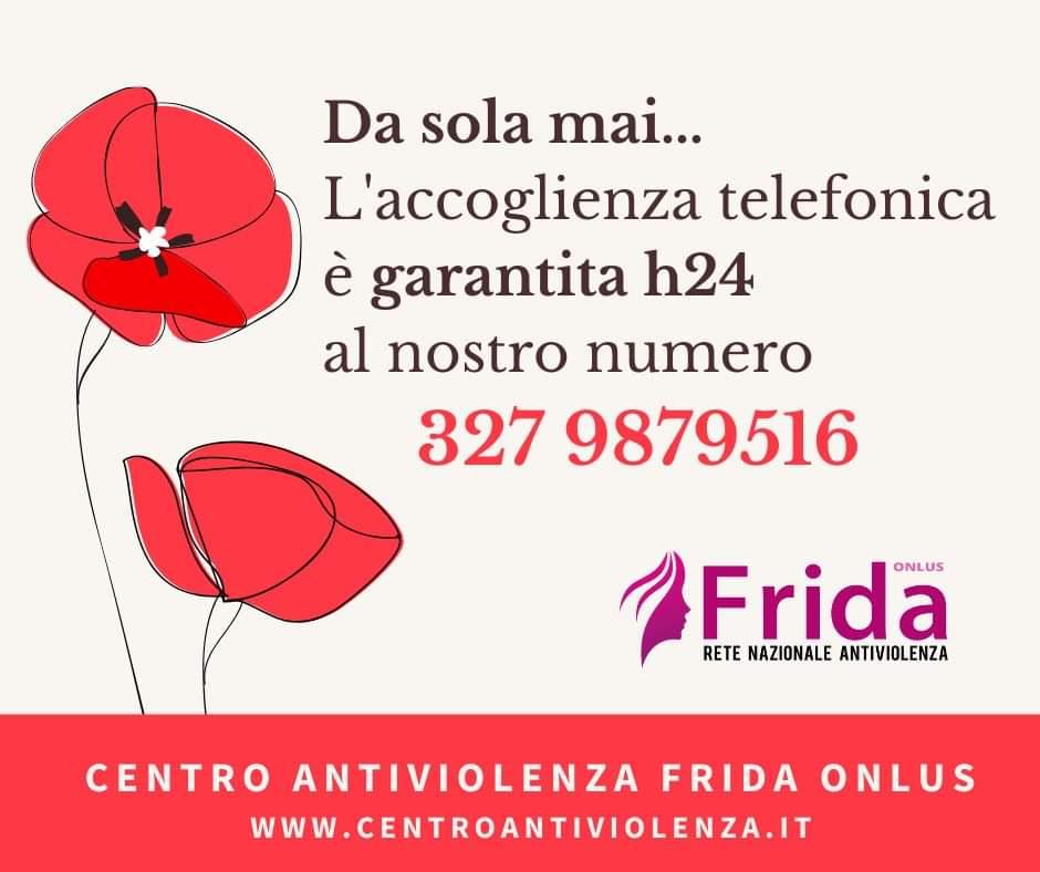 """Barcellona PG. Il Centro Antiviolenza """"Frida Onlus"""" garantisce accoglienza telefonica h24"""