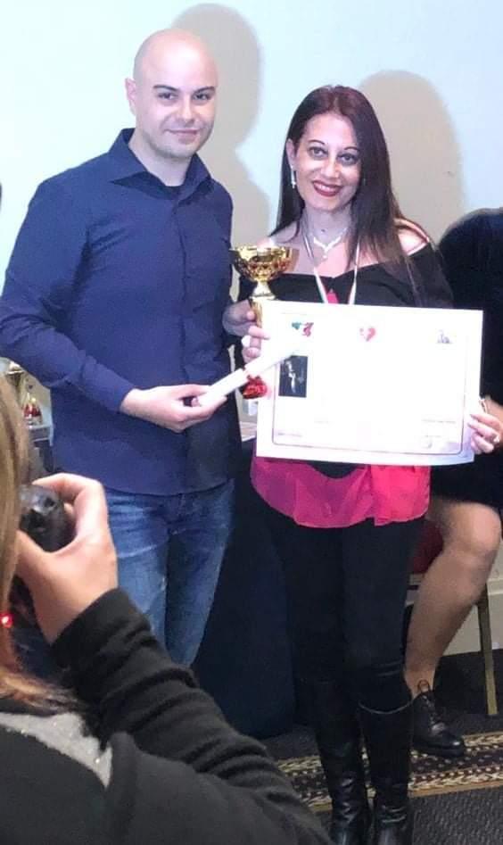 """Catania. Lucia Giacomino ottiene un Terzo Posto ed un Premio Speciale al 2° Concorso Nazionale di Letteratura """"Verba volant, amor manet""""- Cupido in poesia"""