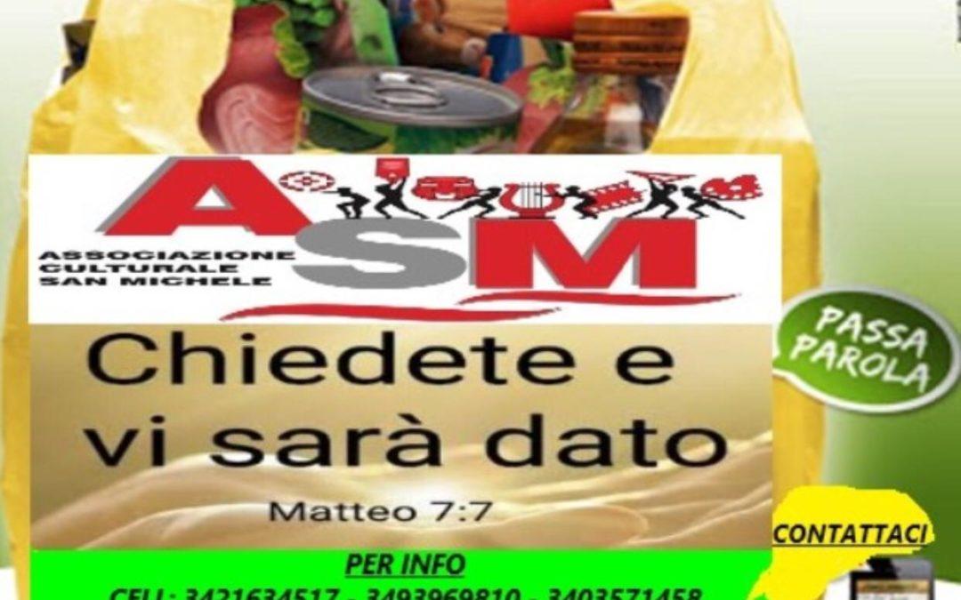 Messina. Iniziativa dell'associazione San Michele per le famiglie meno fortunate