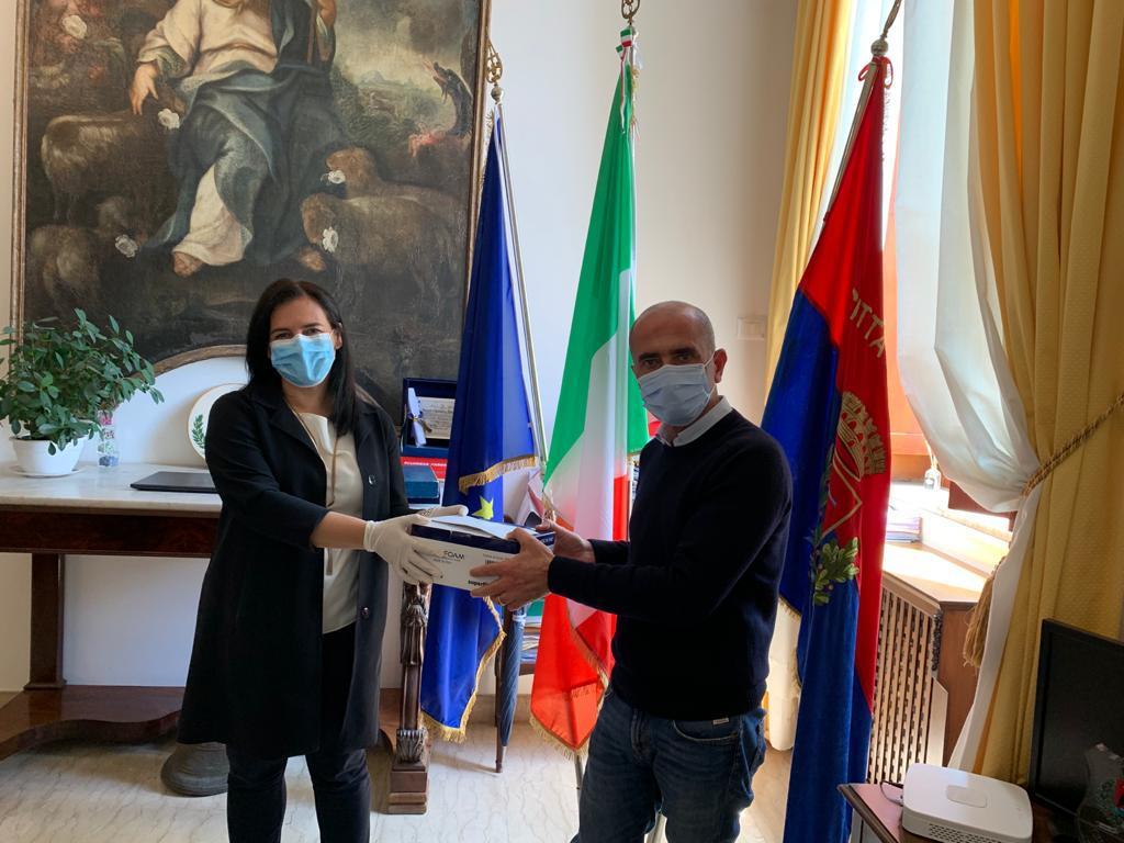Milazzo. Con Poste italiane in arrivo mascherine per le famiglie