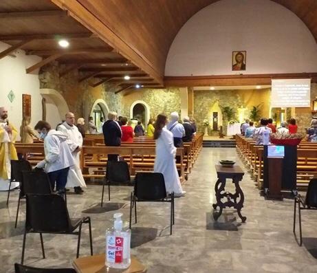 Milazzo. 'Termoscanner' e nuove regole, alla prima domenica in chiesa