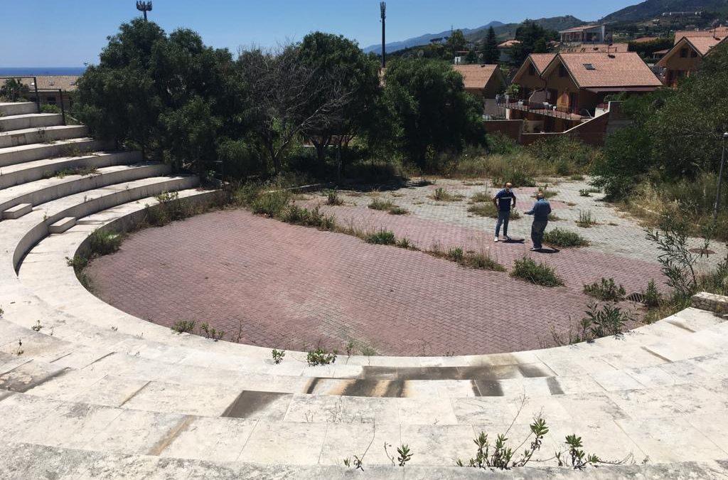 Messina. L'assessore Caruso in visita all'anfiteatro Sperone Ovest, presto interventi di riqualificazione