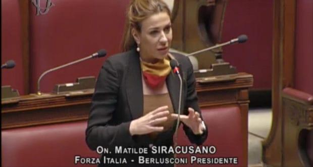 """Messina. L'on. Matilde Siracusano (Forza Italia) relatrice unica alla Camera su provvedimeno baracche: """"Incarico che mi inorgoglisce!"""""""