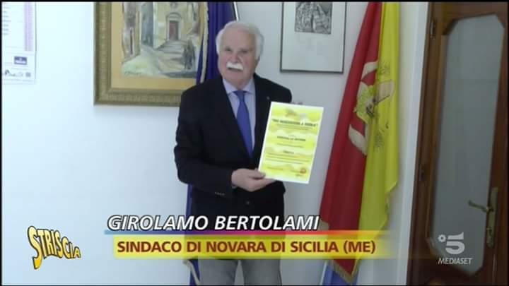 """Novara di Sicilia. Il Sindaco Gino Bertolami: """"Il mio impegno la cosa essenziale!"""" Tutte le opere della sua Amministrazione. INTERVISTA ESCLUSIVA"""