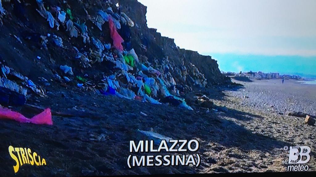 Milazzo. La mega discarica di Ponente a 'Striscia la notizia'