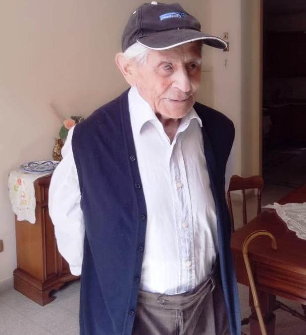 Barcellona PG. Auguri per i 100 anni del soldato Basilio: lotto' nei lager nazisti