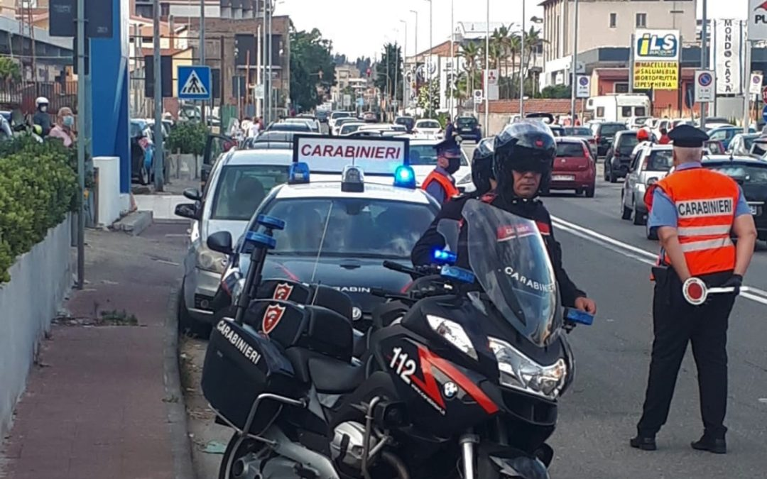 Messina. Controlli Carabinieri nel week end, bilancio di 10 denunce
