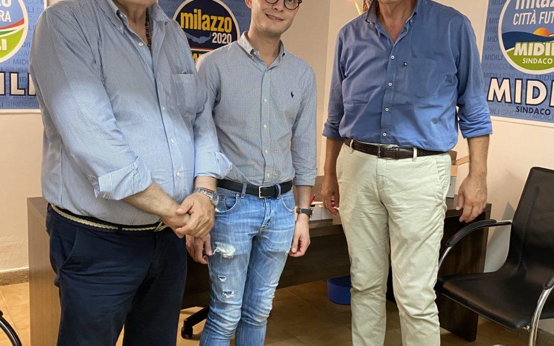Elezioni a Milazzo. Midili ottiene appoggio di 'Ora Sicilia' con Cusumano