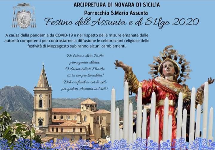 Novara di Sicilia. Il Festino dell'Assunta e di Sant'Ugo 2020