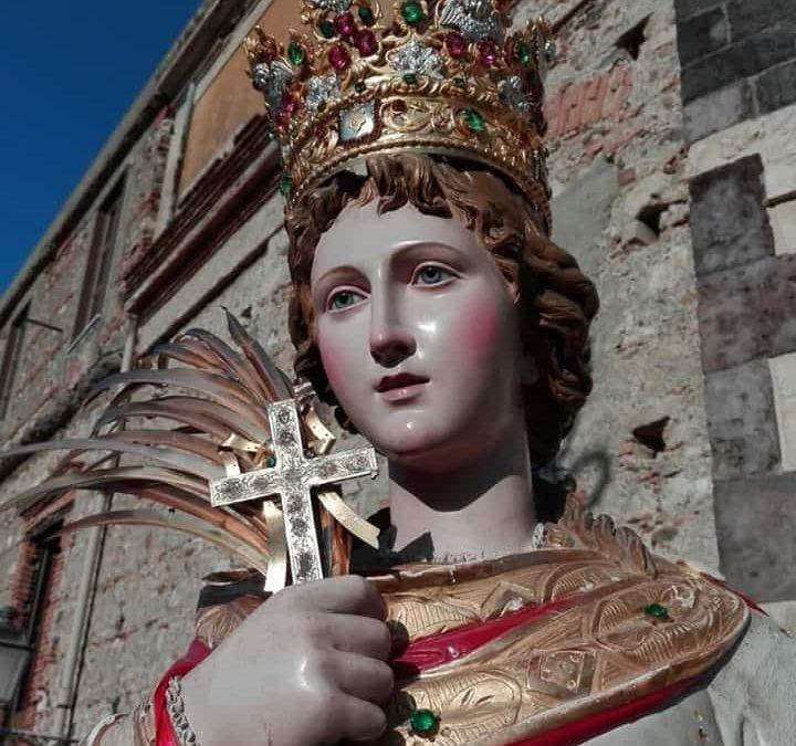 Patti. La Festa di Santa Febronia 2020. La storia della Patrona, il gemellaggio con Minori (SA)