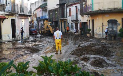 """Barcellona PG. Alluvione, Assessori Munafò e Pino incontrano Musumeci. Prime emergenze: """"1 milione di euro entro settembre"""""""