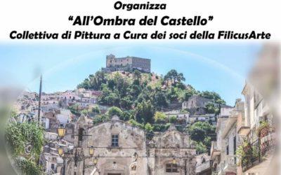 """Santa Lucia del Mela. Collettiva FilicusArte """"All'ombra del Castello"""" in Piazza Milite Ignoto"""