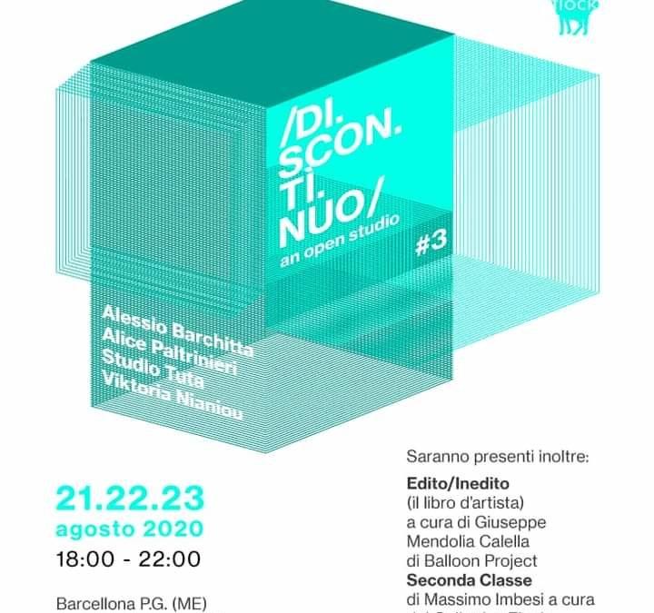 Barcellona PG. DISCONTINUO an open studio #3 con il Collettivo Flock