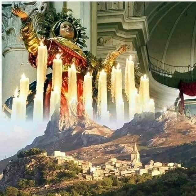 Novara di Sicilia. Il Borgo Illuminato in onore della Madonna Assunta e di Sant'Ugo Abate